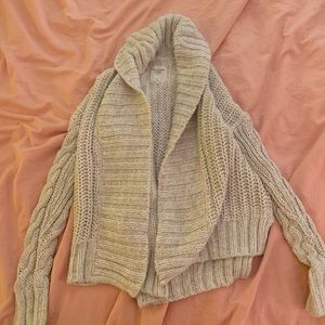 Heavy cardigan from abercrombie